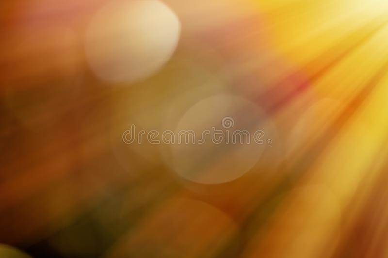Light beams and sun flares vector illustration