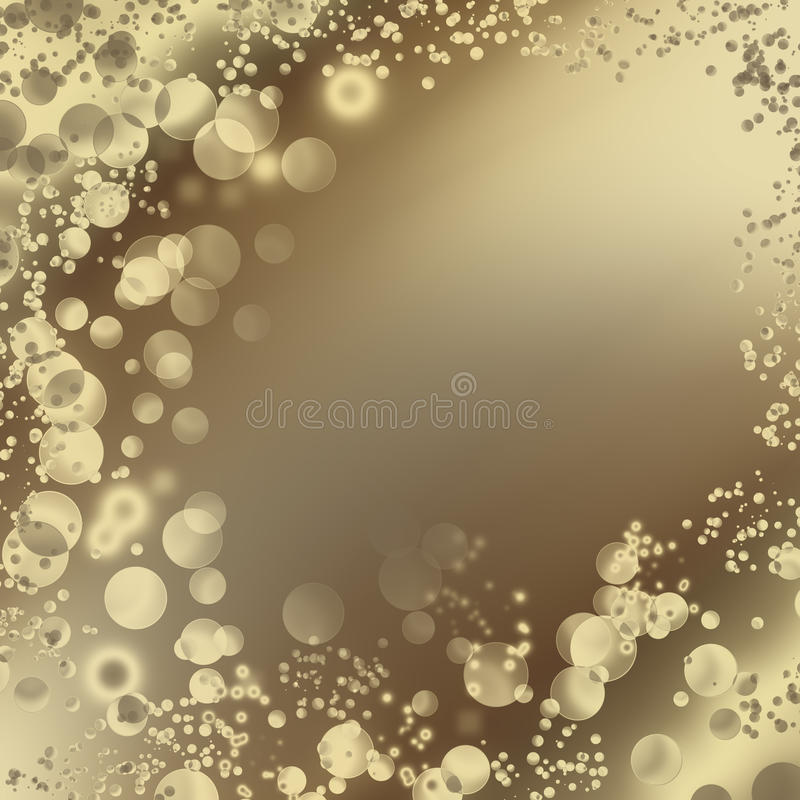 Download Abstract Background With Bright Bubbles Stock Illustration - Image: 27559597