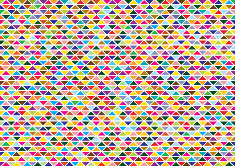 Abstract background with bright triangles vector illustration