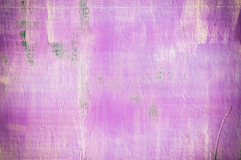 Abstract background of brightly pink color. Stains and streaks of rust. A bright picture stock photos