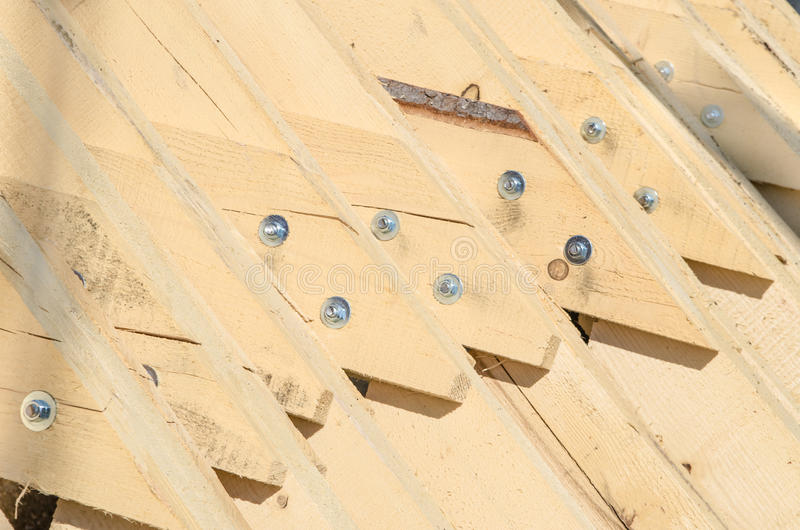 Abstract background with building Lumber stock image