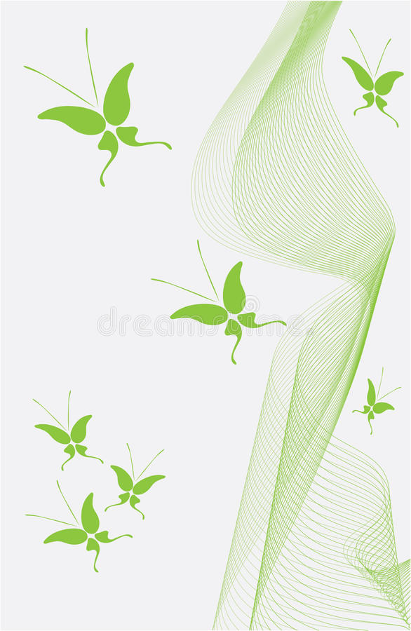 Abstract background with butterfly. Vector illustration vector illustration