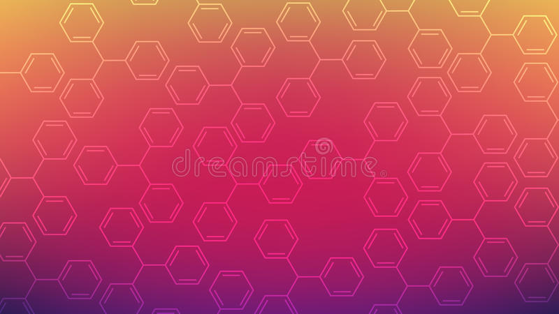 Abstract background. Chemical formula. royalty free stock photos