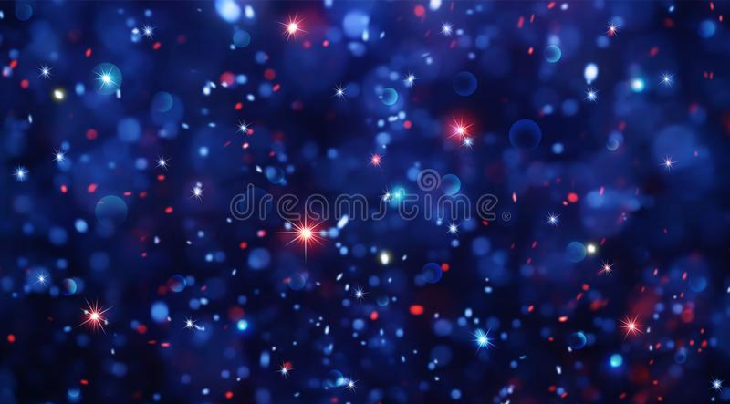 Abstract background for christmas and new year stock illustration