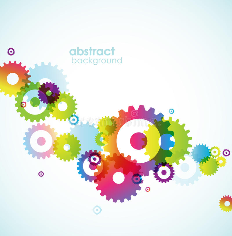 Download Abstract Background With Circles. Stock Vector - Illustration of space, modern: 14544388