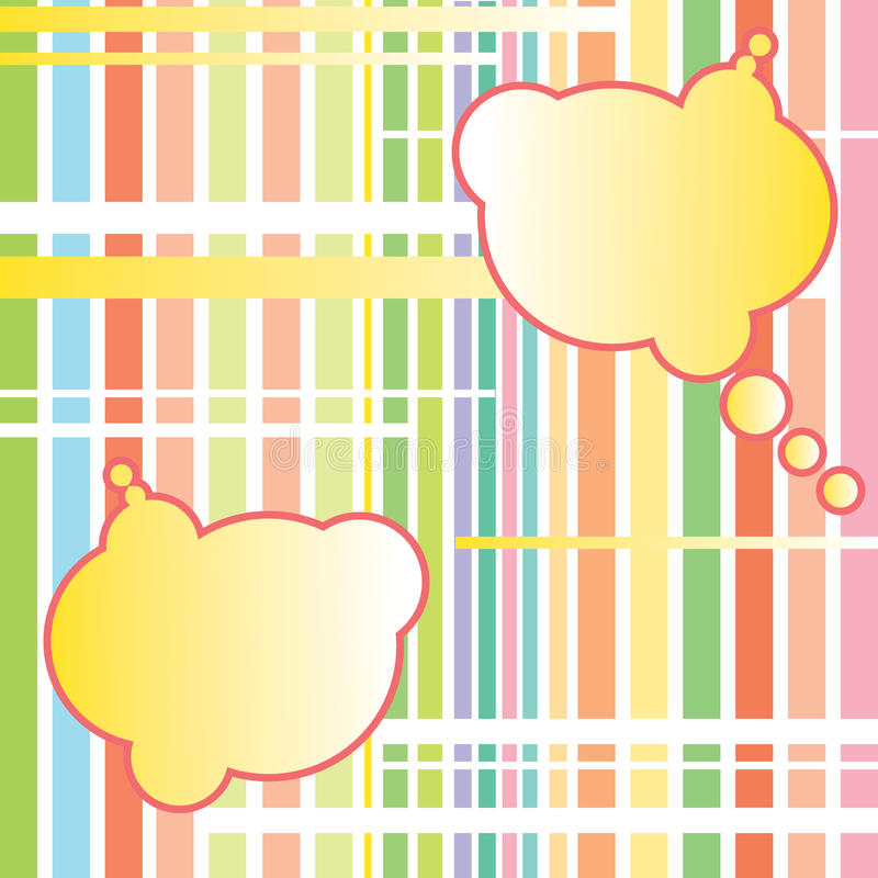 abstract background clouds vector 免版税图库摄影