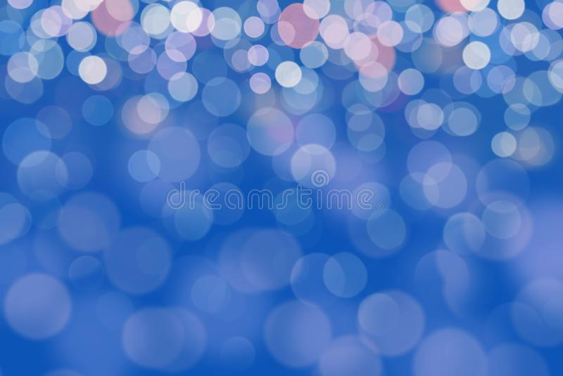 Abstract background. blue-colored blur. Circle blur royalty free stock photos