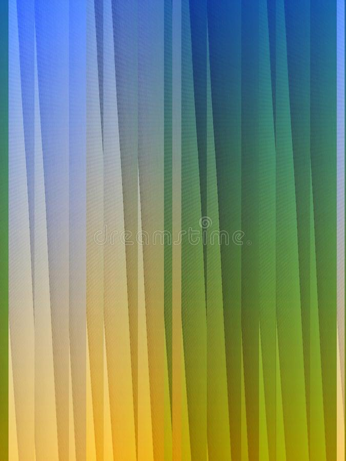 Abstract background. Colorated fabric texture stock illustration