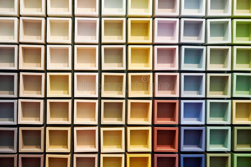 Abstract background of colored elements stock photos