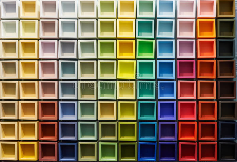Abstract background of colored elements royalty free stock image