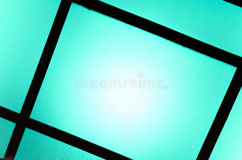 Abstract background of colored glasses of lamp.  stock photography