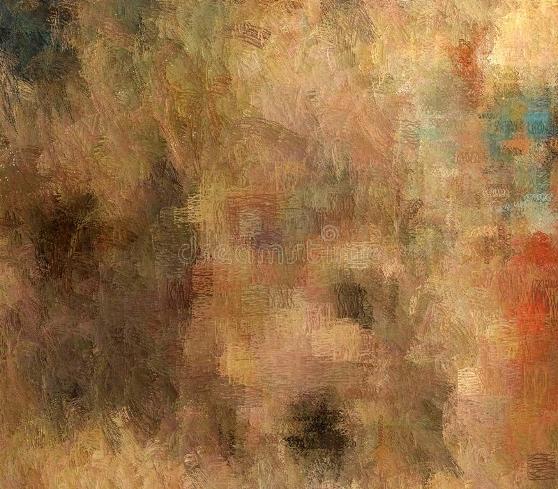 Abstract background of colored grunge texture of blurred paint smears stains royalty free illustration