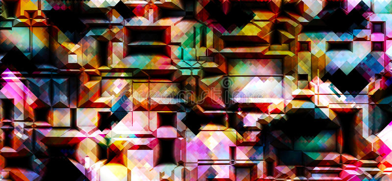 Download Abstract background stock illustration. Illustration of colourful - 96854103