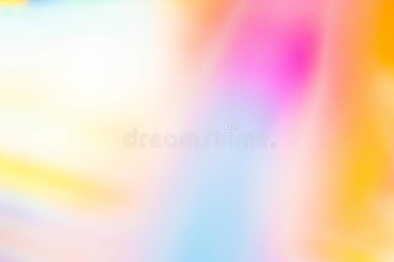 Abstract Background. Colorful Gradient Defocused Backdrop. Simple Trendy Design Element For You Project, Banner, Wallpaper. Be royalty free stock image