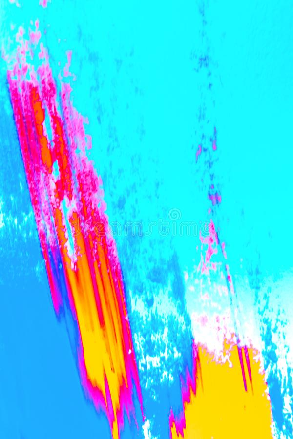 Abstract background of colorful pigment . royalty free stock photos
