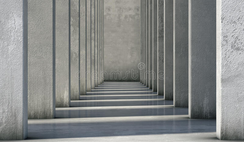Abstract background of the concrete. 3d render stock photography