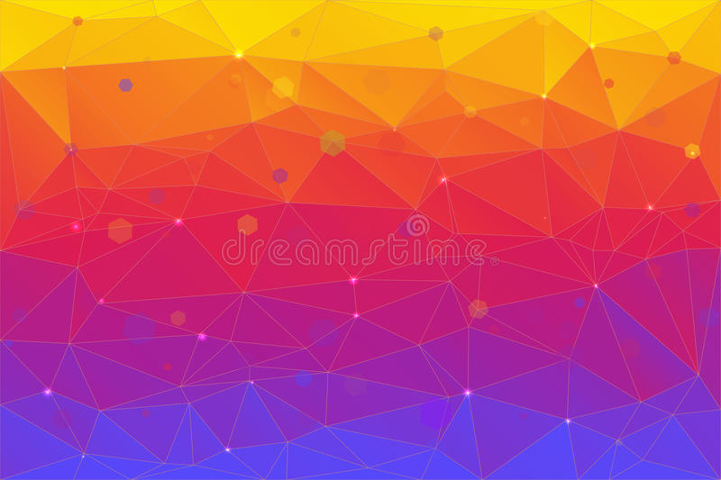 Abstract background consisting of triangles. A bstract background consisting of triangles. Pattern triangles background for your design, printing and royalty free illustration
