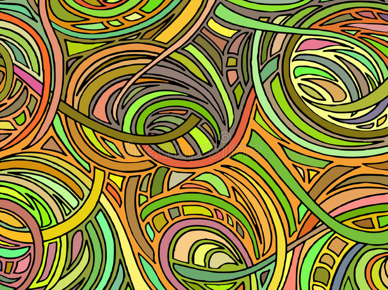 Abstract background consisting of various forms.Vector royalty free illustration