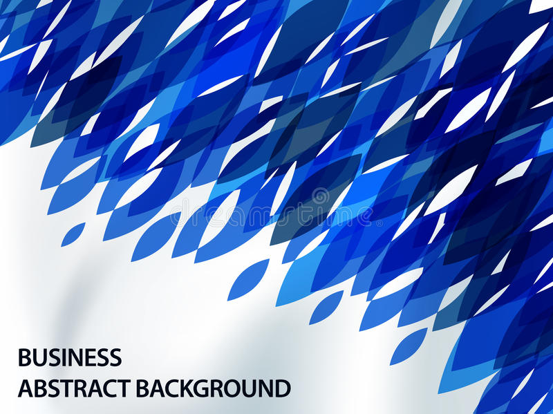 Abstract background with contrast shapes stock illustration