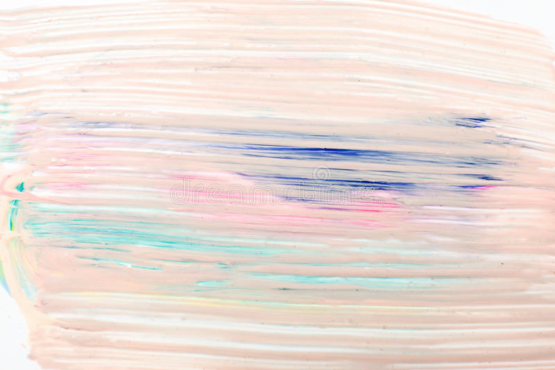 Abstract background, creative modern art, pastel. Abstractionism, modern creative art. Abstract background in pastel colors, creativity, smudged pink paint stock image