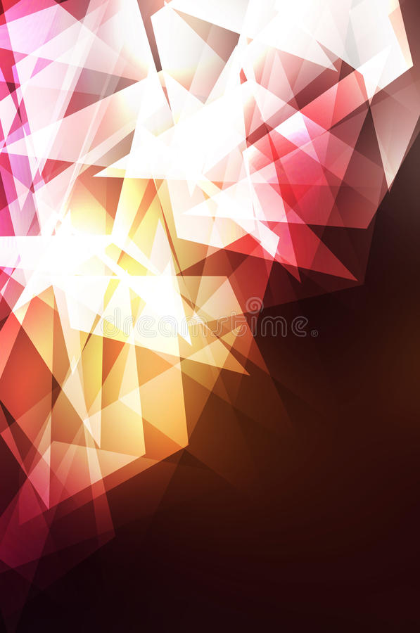 Abstract background crystal stock photo