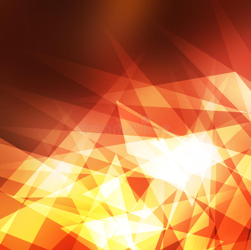 Abstract background crystal stock image