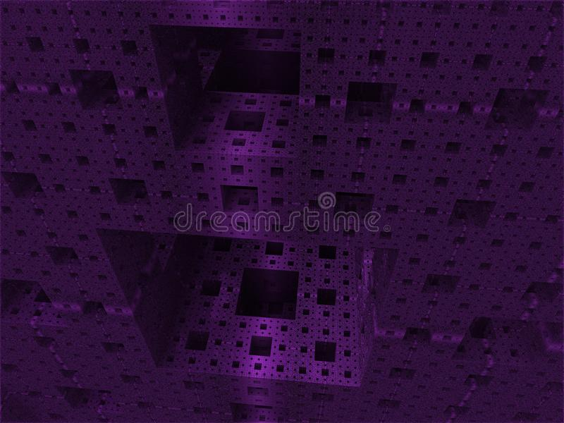 Abstract background cube world royalty free stock photography