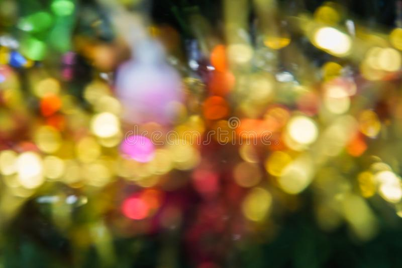 Abstract background - defocus and blurred light stock image