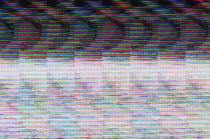 Digital glitch. Abstract background of a digital glitch vector illustration