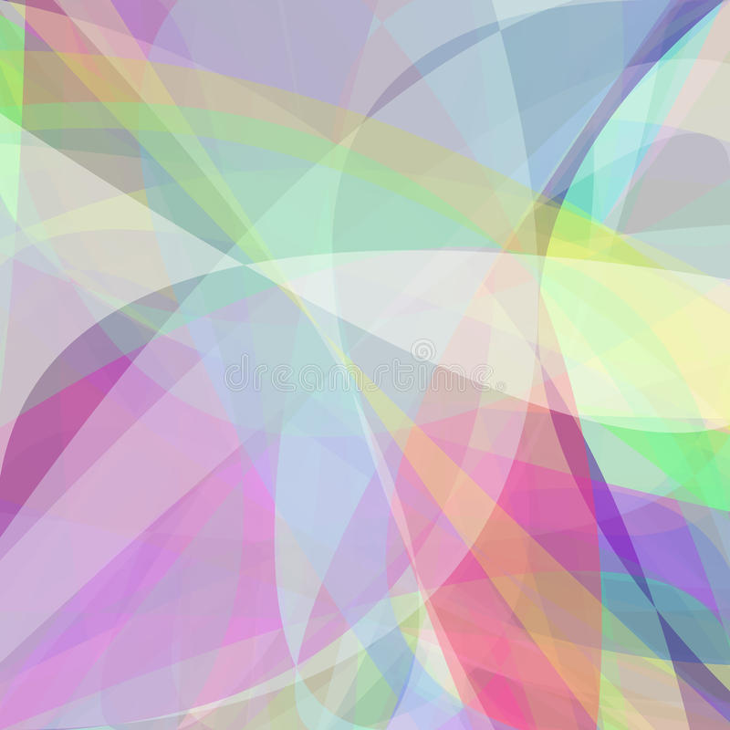 Abstract background from dynamic curves stock illustration