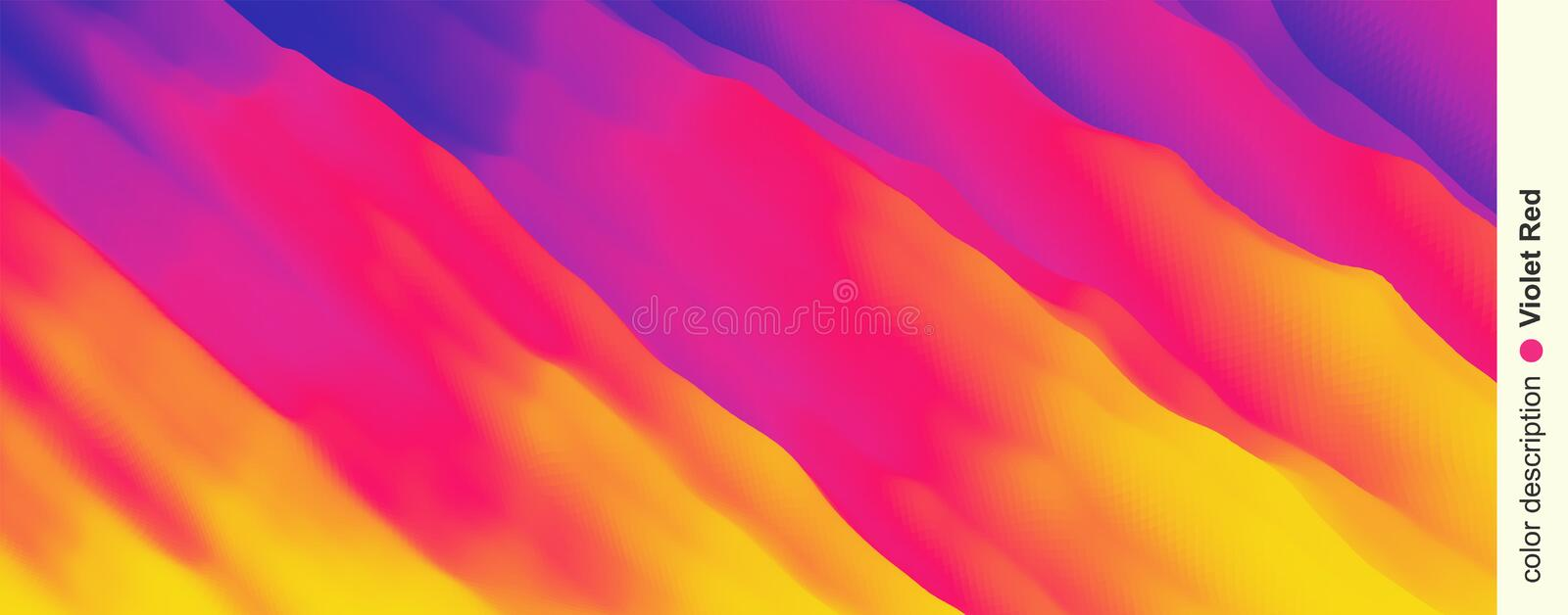 Abstract background with dynamic effect. Motion  Illustration..Trendy gradients. Can be used for advertising, marketing, vector illustration