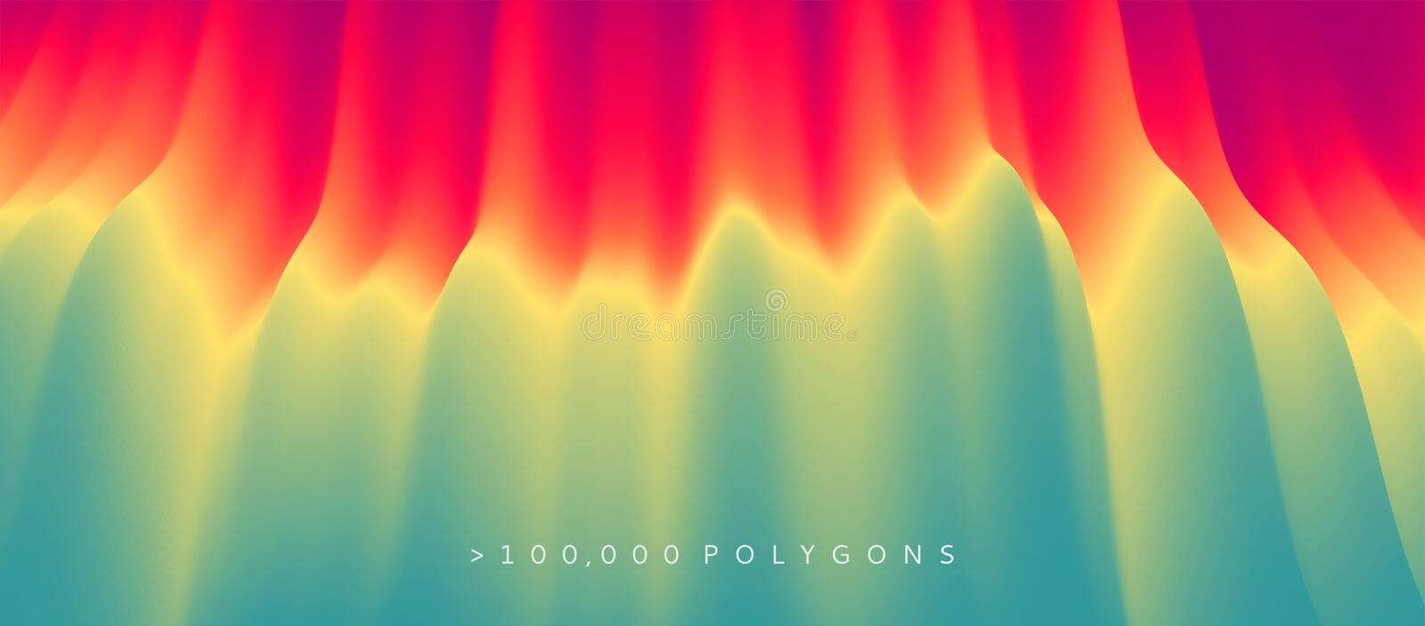 Abstract background with dynamic effect. Motion vector Illustration..Trendy gradients. Can be used for advertising, marketing, stock illustration