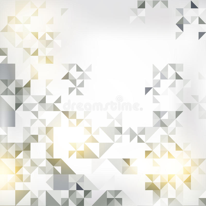 Abstract background with elements of geometric figures vector illustration