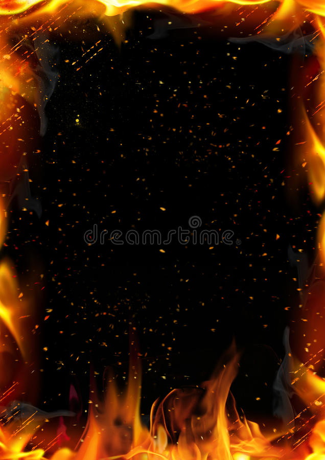 Abstract background with fire flame. Texture for the design vector illustration