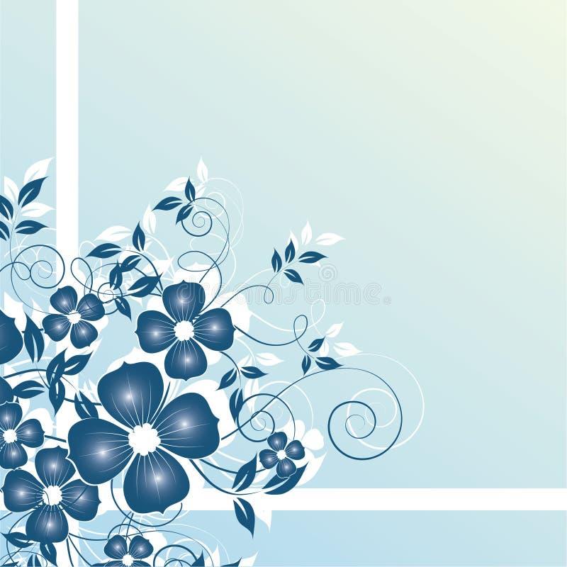 abstract background floral иллюстрация вектора