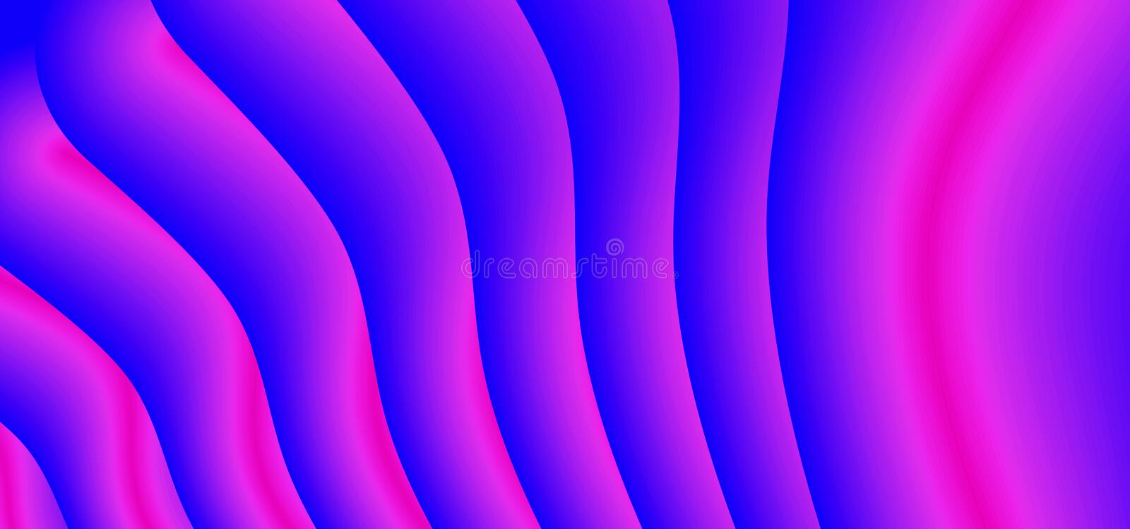 Abstract background with flow gradient modern purple and blue design vector illustration eps 10. Decorative flow wave artistic. Design, dynamic, fluid, shape royalty free illustration