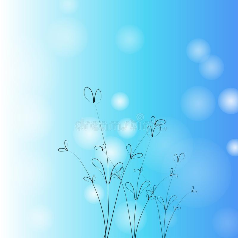 Abstract background of flower,vector illustrations vector illustration