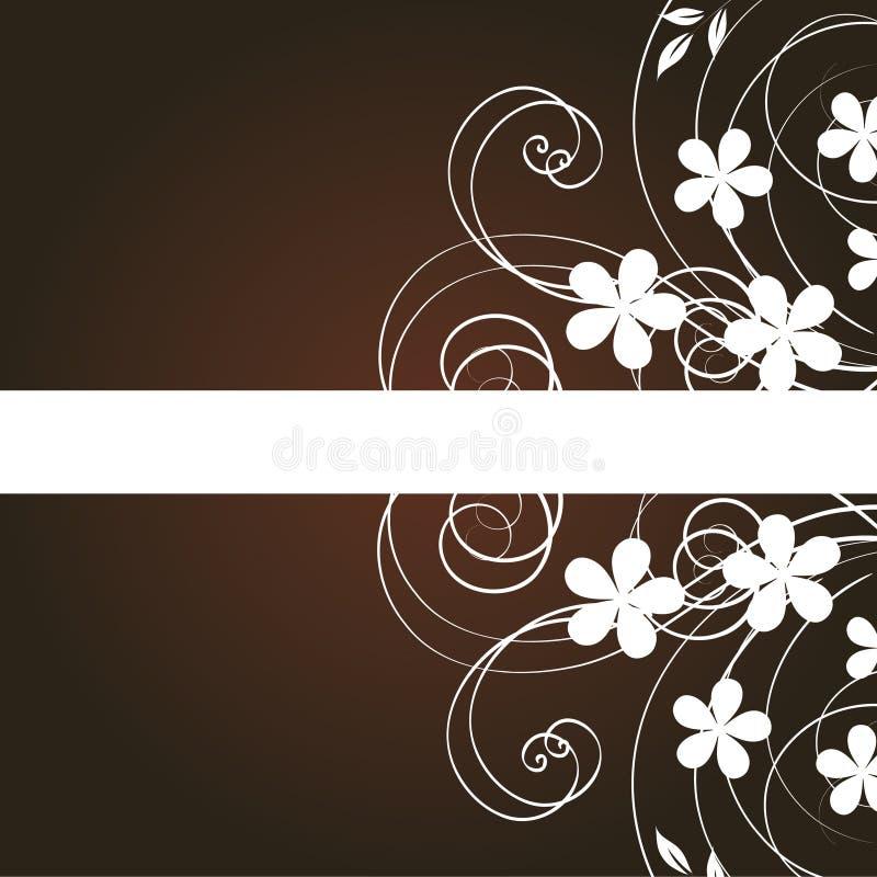 abstract background flowers иллюстрация вектора
