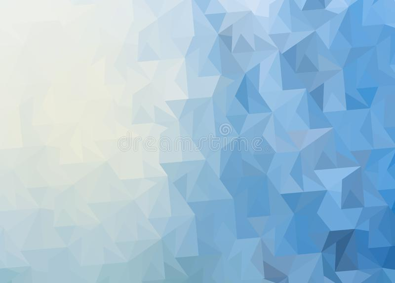 Winter abstract background ice surface stock illustration