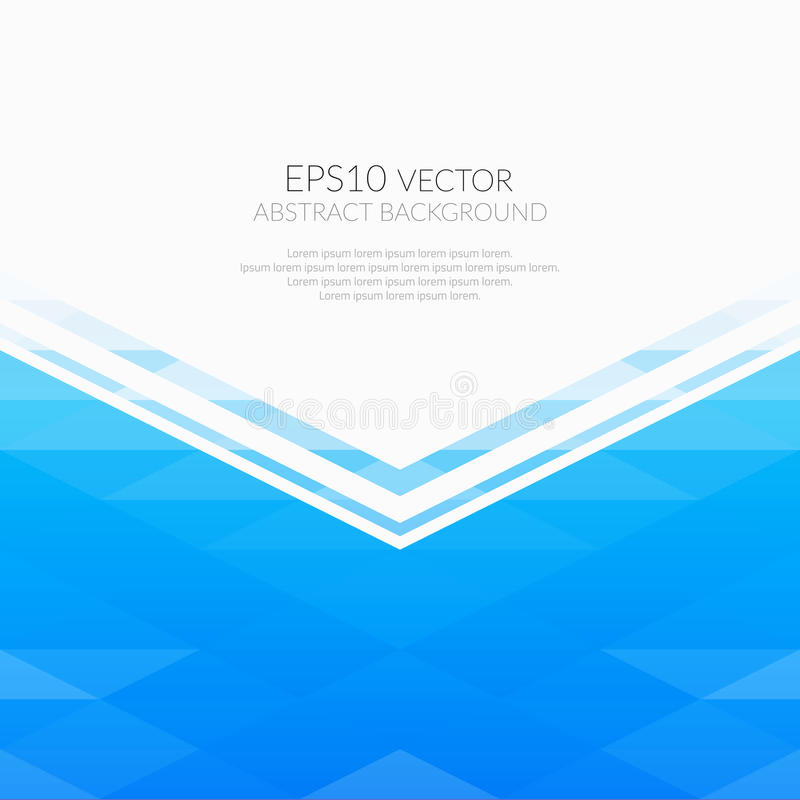 Abstract background with geometric patterns. Shades of blue. White space for text vector illustration