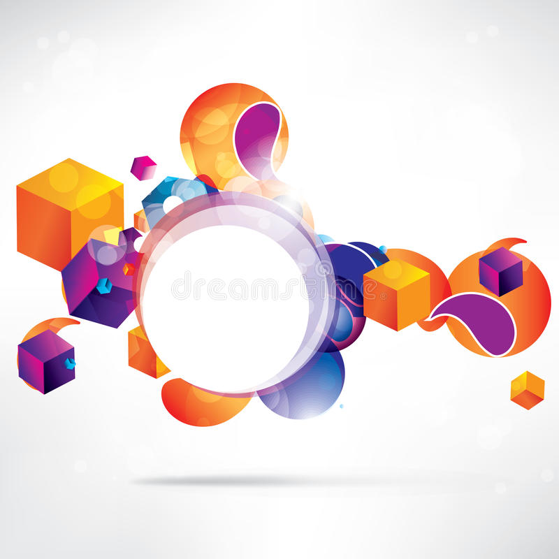 Abstract background with geometric shapes. This is file of EPS10 format vector illustration