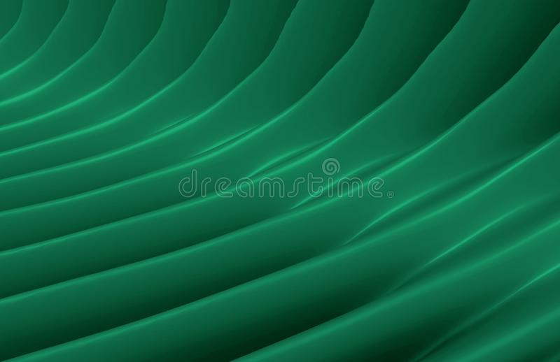 Abstract background of geometric stones. Green pattern. royalty free illustration