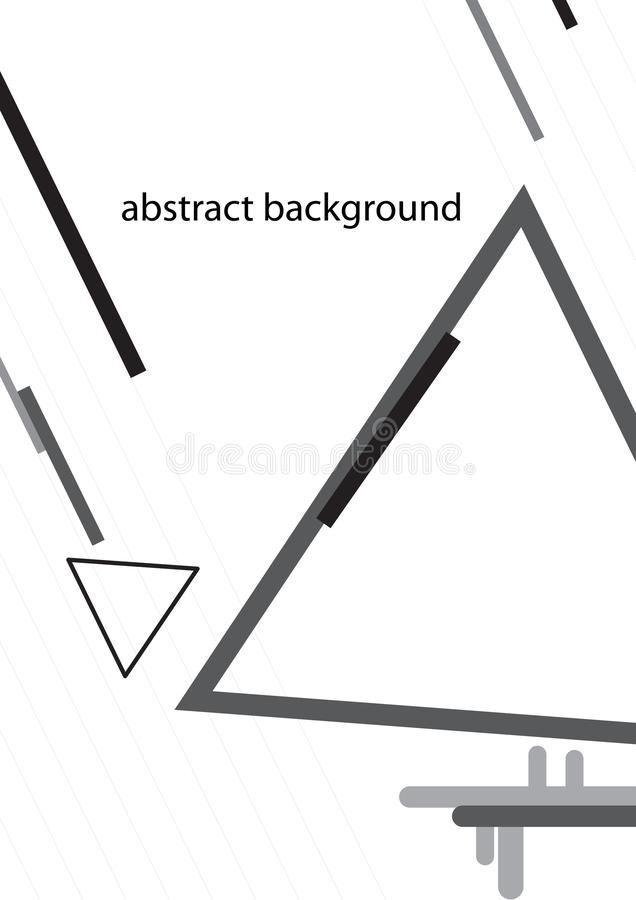 Abstract background of geometry graphic in modern style,vector,illustration stock illustration