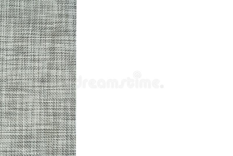 Grey textured fabric background isolated stock photos