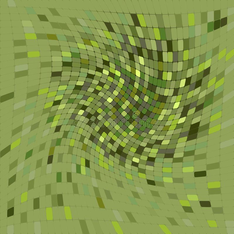 Abstract background, Green, Bitmap illustration. Computer generated royalty free illustration