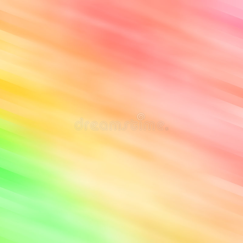 Abstract background in green, yellow and orange. Abstract background in tender green, yellow and orange