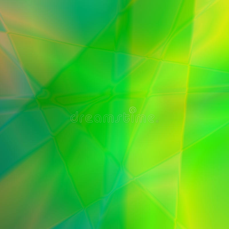 Abstract green background. Abstract background in green-and-yellow summer colours vector illustration