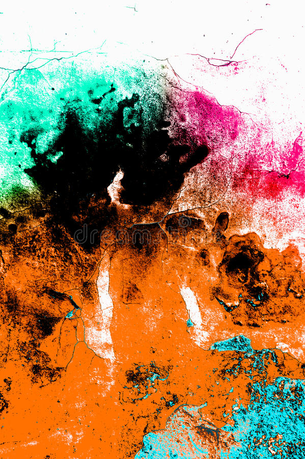 Abstract background. Grunge rainbow style abstract background wall texture stock image