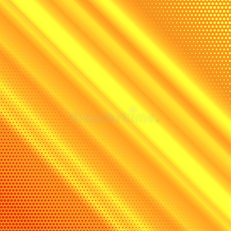 Abstract background with halftone dots design stock illustration