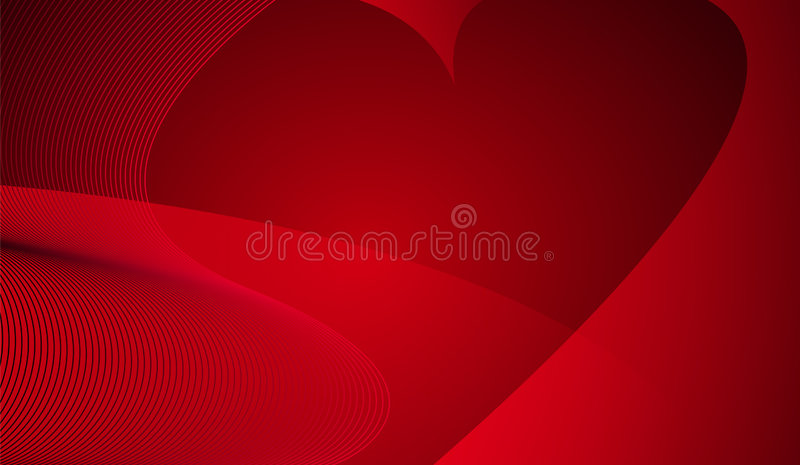 Abstract background with heart stock photo